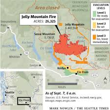 Oregon Fires Map Here Are The Largest Wildfires In Washington State Oregon The