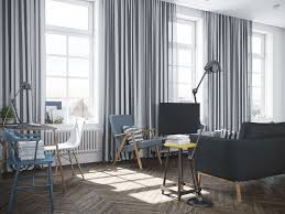 And Black Fabric For Curtains Interior Luxury Modern Grey White Fabric Striped Window Curtain