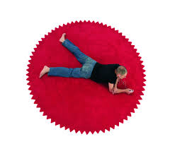 3 Round Area Rugs by Red Round Rugs Roselawnlutheran