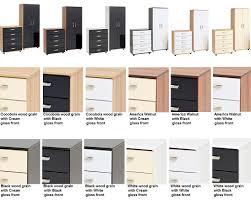 cream gloss and walnut bedroom furniture izfurniture