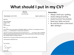 what to put in a cover letter for a cv uxhandy com