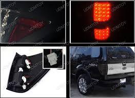 2012 f150 tail lights 09 12 ford f150 chrome housing smoke lens led tail lights