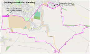 Satellite Maps 2015 Maps Of The Local Area East Hagbourne Parish Council In Oxfordshire