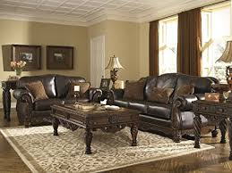 amazon com north shore living room set by ashley furniture