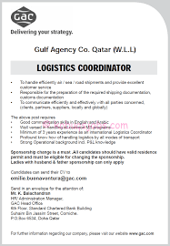 Program Coordinator Resume Logistics Responsibilities Resume Resume For Your Job Application