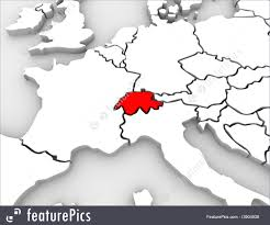 Map Europe Countries by Signs And Info Switzerland Country Abstract Map Europe Countries