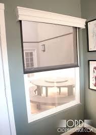 diy window valance u2013 old paint design