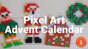 pixel art advent calendar a chocolate alternative