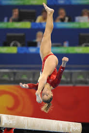 plus 1 7 gymnast gymnastics shawn johnson balance beam little