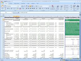 Financial Modeling Excel Templates Free Financial Model Financial Model 2 1
