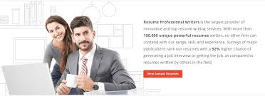 Job Resume Writing by Professional Resume Writing Service Interview Guaranteed