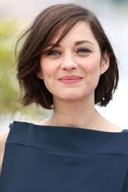 bob haircuts with center part bangs sideswept if you ve been rocking a center part for a few years