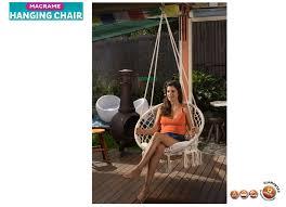 macrame hanging chair mhc 0050 tropicana imports australia u0027s