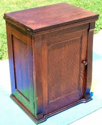 the project lady how to re store old sewing machine cabinet