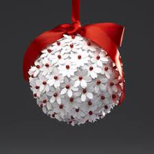 paper punch flower ornament