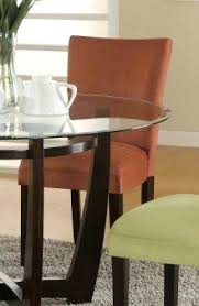 Microsuede Dining Chairs Red Microfiber Dining Room Chairs U2013 Folia