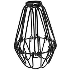 wire cage l shade westinghouse 85036 cylindrical open bottom cage shade brushed