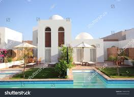 modern villa modern villa pool stock photo 109625708 shutterstock
