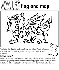england flag coloring page elizabeth ii daffodils the national emblem of wales click the