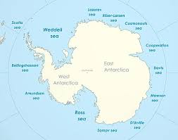 map world seas davis sea