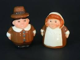 publix pilgrims lilgrim salt and pepper shakers thanksgiving