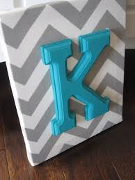 Letter Decorations For Nursery Wall Canvas Letters Nursery Decor Nursery Letters By Nurseryshoppe