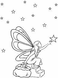 tooth fairy coloring page fantasy coloring pages fairy gathering stars fairy tales and
