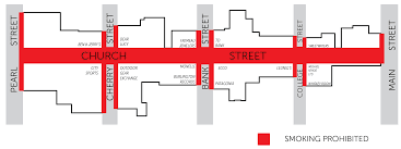 Burlington Mall Map Church Street Smoking Ban