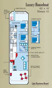 Boathouse Floor Plans Image Detail For Houseboats Awesome Pinterest Boating