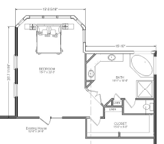 master bedroom bathroom floor plans master suite addition would just need to also add laundry