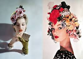 floral headdress trend floral headdresses headdress 1950s and floral headdress
