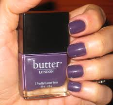 notw butter london marrow nail lacquer if makeup could talk