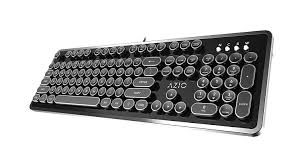 amazon com azio mk retro usb typewriter inspired mechanical