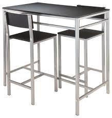 modern pub table set modern bar table sets frame aluminum bar table sc 1 st lumens lighting