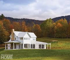 new england farmhouse contemporary classic in vermont new england home magazine