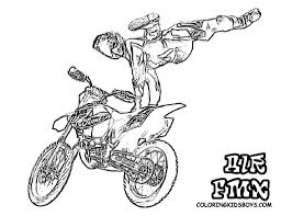 motocross coloring pages printable coloring book pinterest