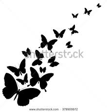 butterflies valentines day card stock vector 578351659