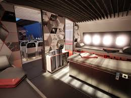 nike teague athlete airplane interior business insider