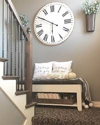 Large Wall Decor Ideas For Living Room Best 25 Stair Decor Ideas On Pinterest Stair Wall Decor