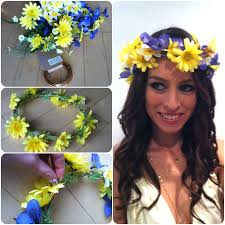 hippie flower headbands flower headbands manicures