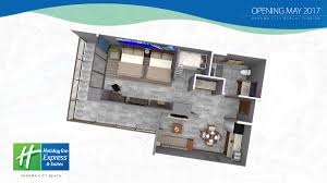 Aqua Panama City Beach Floor Plans by Photos Of The Holiday Inn Express U0026 Suites In Panama City Beach