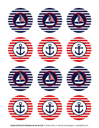 nautical cake toppers free nautical party printables from ian lola designs nautical
