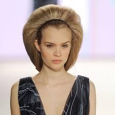big bun hair no one does big hair like new york fashion week hair