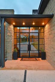 Exterior Steel Entry Doors With Glass Glass Front Doors Peytonmeyer Net