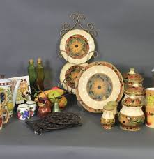 kitchen pottery in fruit and sunflower designs ebth