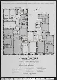 floor plan of 75 central park west constructed in 1928 by
