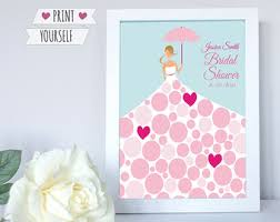bridal shower sign in book wedding sign in board guest book printable pdf