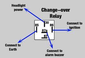 headlight on alarm modification