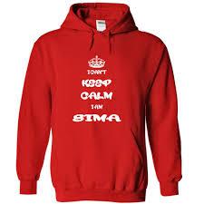 top tshirt deals i cant keep calm i am sima name hoodie t shirt