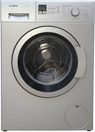 bosch 7 kg fully automatic front load washing machine silver price